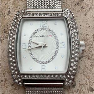 Woman's Silver tone watch